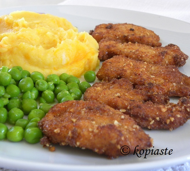 Fried Breaded Chicken Nuggets 2 small | Mint, Cinnamon & Blossom Water