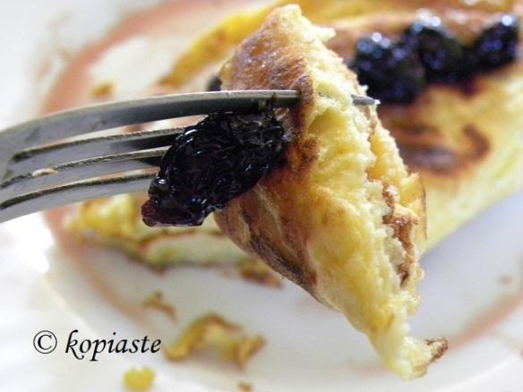 Cypriot pancake kaikanas