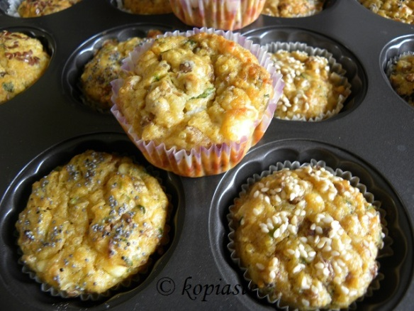 Lentil and Quinoa Muffins
