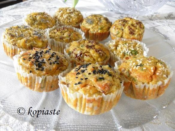 Quinoa and Lentils Muffins